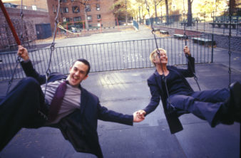micheal-and-elissa-on-swings